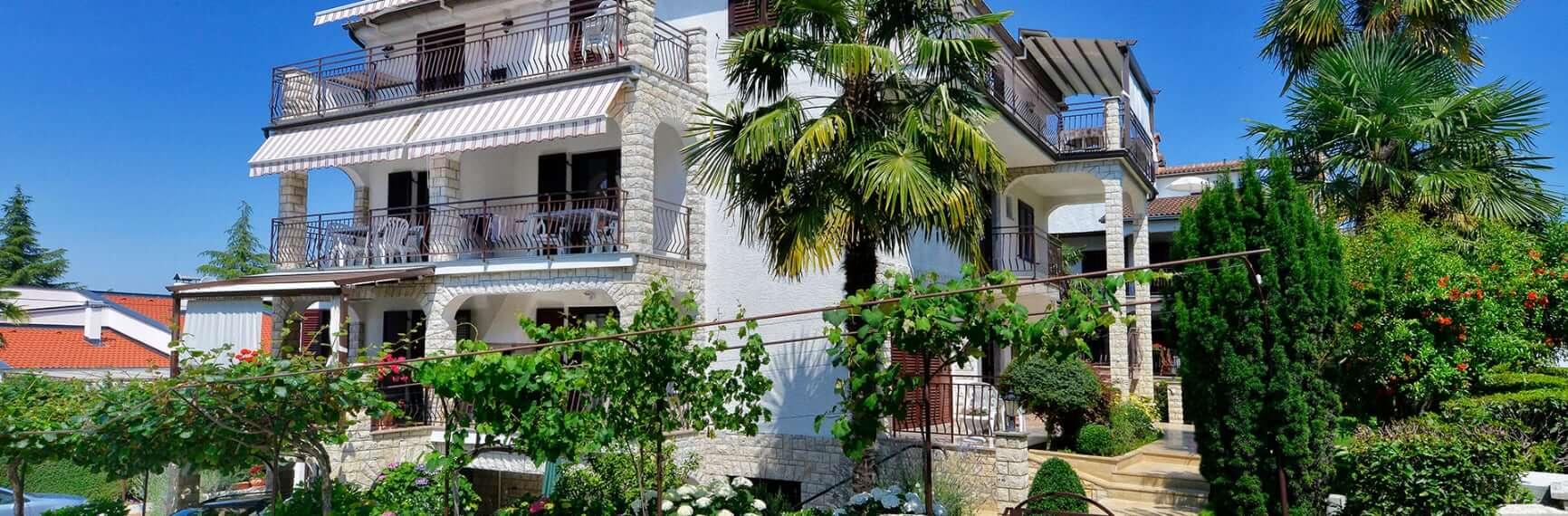 Ferienwohnungen Porec Istrian Kroatien