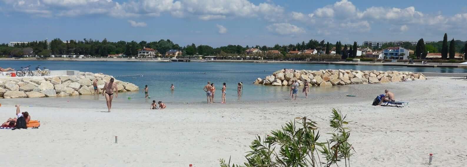 Porec Istrian Kroatien Strand
